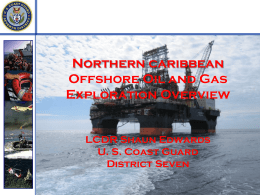 Northern caribbean Offshore Oil and Gas Exploration Overview