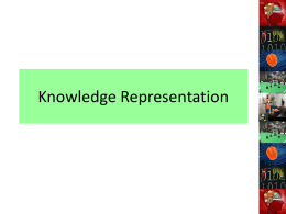 Introduction to knowledge representation