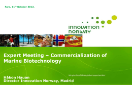 Innovation Norway is committed to