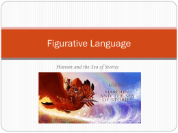Figurative Language in Haroun Powerpoint