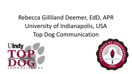 Rebecca Gilliland Deemer - Public Relations Institute of Australia