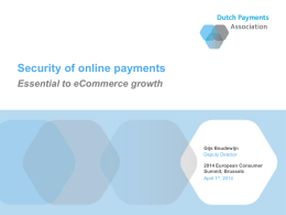 Secure Online Payments (Gijs Boudewijn)