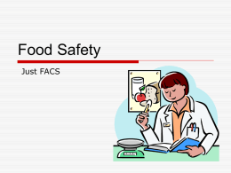 Food Safety PowerPoint presentation