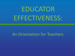 5 - Teacher Orientation PowerPoint Fall 2014 ()