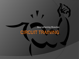 Circuit Training - Weber State University