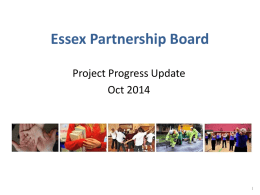 Highlights - Essex Partnership Portal