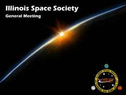 March 2 nd (1-5PM) - Illinois Space Society