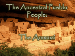 The Anasazi People: A Native American Tribe