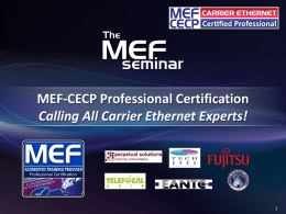 What is MEF-CECP? - marcom