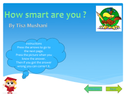tisa mushani power point game start