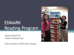 Edmark Reading Program - Intervention PD Resources