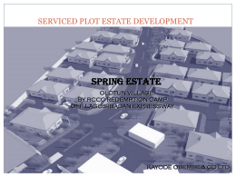 Presentation-Spring Estate - official website of kayode