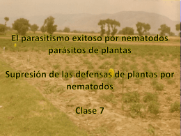 Parasitismo Exitoso del Plantas - the University of California, Davis