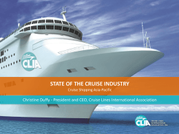 1% - Cruise Lines International Association