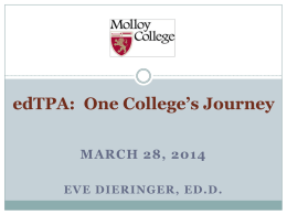 March 28 webinar: edTPA - cIcu | Commission on Independent
