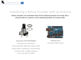 rotary encoder & interrupts