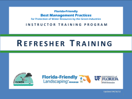 PowerPoint - Florida-Friendly Landscaping™ Program