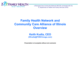 Family Health Network and Community Care