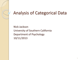 20131011_Analysis_of_Categorical_Data_Jackson