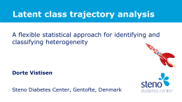 Vistisen_Latent class trajectory analysis