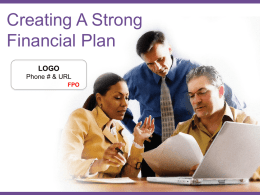 Sample Presentation for Promoting CPA Financial Planner
