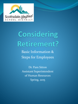 Retirement PowerPoint Presentation