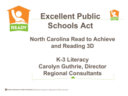North Carolina Read to Achieve - roundtable2