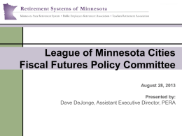 Employers - Public Employees Retirement Association of Minnesota