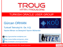DWH - Gurcan Orhan`s Oracle Data Integrator Blog