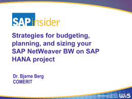 BI-IT2013_Berg_Sizing_Budgeting_HANA_v7