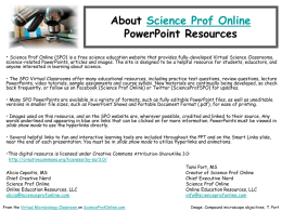 Instructor PowerPoint