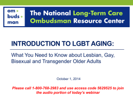 What You Need to Know about Lesbian, Gay, Bisexual and