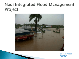Nadi Integrated Flood Management Project