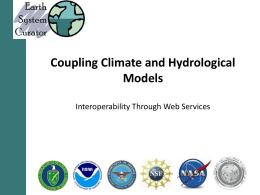 Coupling Climate and Hydrological Models
