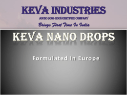KEVA Ancient mineral DROPS