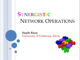 ppt - Stanford University Networking Seminar