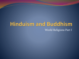 PPT - Hinduism and Buddhism