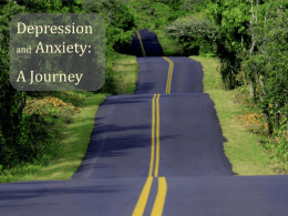 to Powerpoint: Depression and Anxiety – A Journey