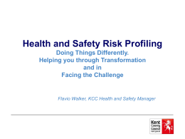 KCC Health and Safety Risk Profiling