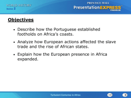 What effects did European exploration have on the people of Africa?