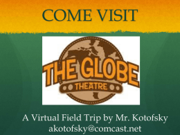 The GLOBE Virtual Field Trip