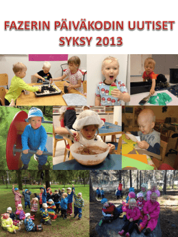 Syksy 2013 (PPT)