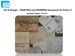 Art & Design – PAINTING and DRAWING (Assessed for