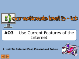 AO3 - Use Current Features - lowersixthAO2