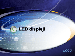 LED displeji