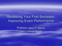 reviewing-your-first-semester