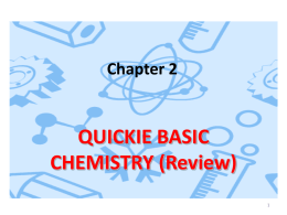 Chem Review_Chapter 2