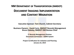NM Department of Transportation (NMDOT)