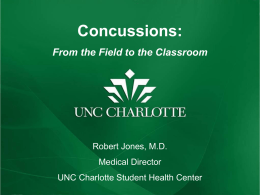 Health issues on the field and in the classroom