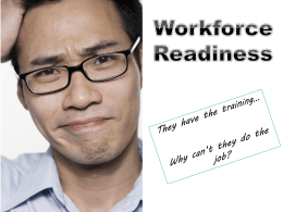 Workforce Readiness PowerPoint